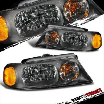 限定 フォード リンカーン ヘッドライト 98-02 Lincoln Navigator Crystal Black BLK Headlights LH RH Head Lamps Assembly  98-02リンカーンナビゲータークリスタルブラックBLKヘッドライトLH RHヘッドランプアセンブリ