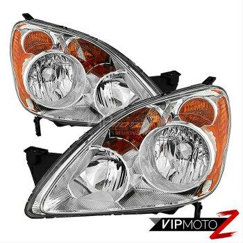 バーゲンSALE ホンダ CR-V ヘッドライト New Honda CRV 05-06 Factory Style Headlights Right Left [Japan Built] Headlamps  新しいホンダCRV 05-06ファクトリースタイルヘッドライト右左[日本内蔵]ヘッドランプ