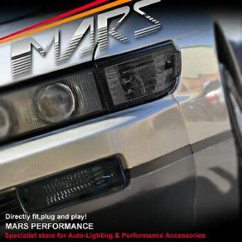 緊急大幅値下げ 日産 シルビア ヘッドライト SMK Side Corner Parker Bumper Turn Signal Indicator Lights for Nissan Silvia S13  SMKサイドコーナーパーカーバンパーは日産シルビアS13のためのシグナルインジケータライトをオンにします