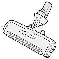 ◆TOSHIBA 純正◆◆◆TOSHIBA (東芝) 掃除機 ☆クリーナー用床ブラシ 4145H221 交換部品 交換用ノズル