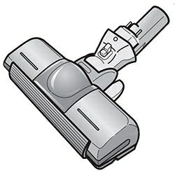 ◆TOSHIBA 純正◆◆◆TOSHIBA (東芝) 掃除機 ☆クリーナー用床ブラシ 4145H490 交換部品 交換用ノズル