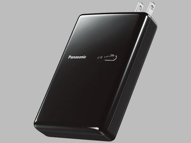 Panasonic 純正部品コード:QE-AL301-K ◆パナソニック モバイルバッテリー搭載AC充電器(ブラック) ◆◆ ■新品 純正部品
