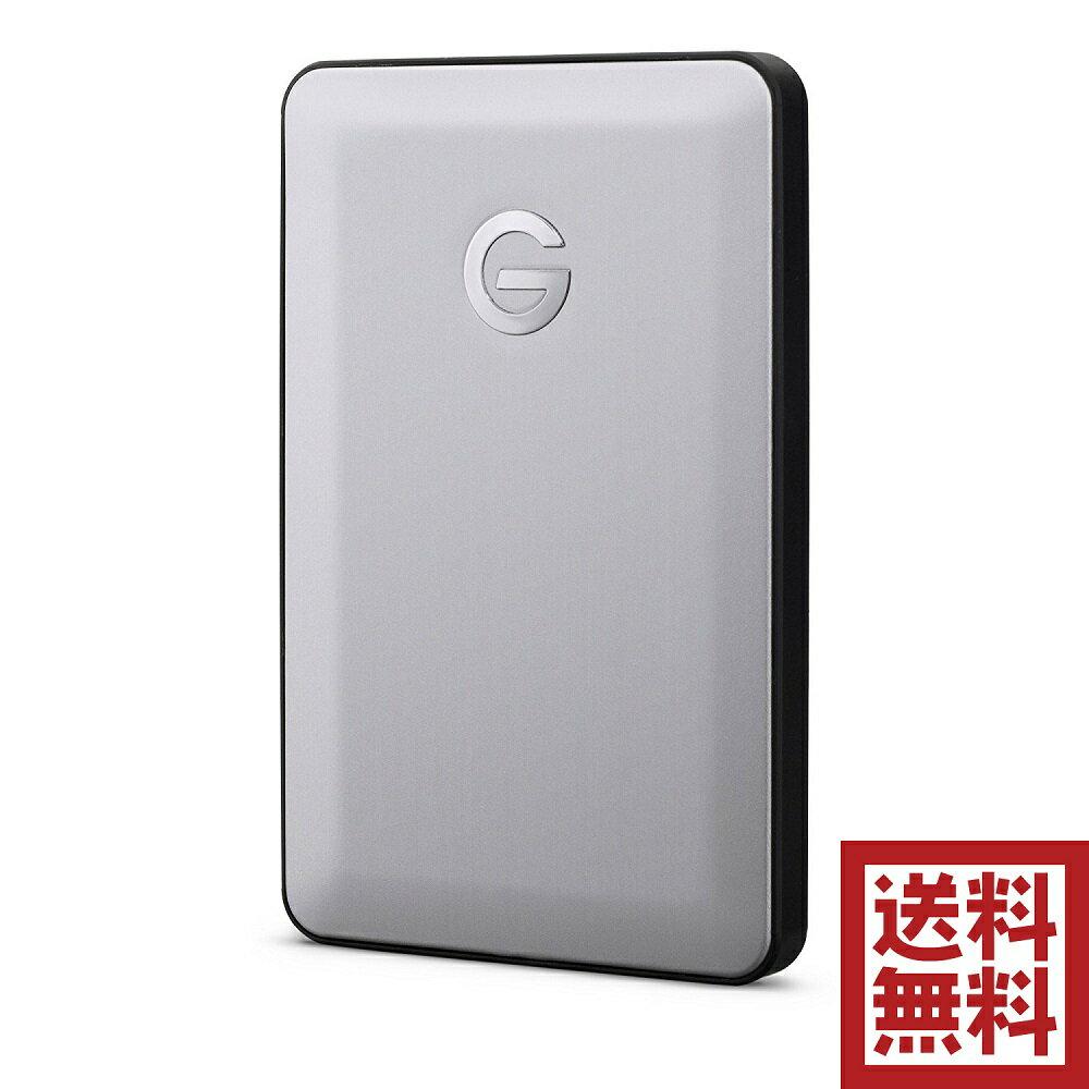 G-Technology 1TB G-DRIVE mobile USB-C ポータブルハードディスク 7200RPM アルミニウムケース 3年保証 Apple iMac/MacBook/TimeMachine対応 バスパワー駆動  スペースグレイ