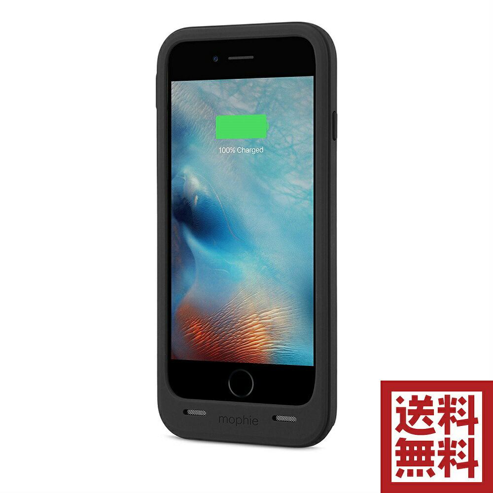 mophie juice pack plus for iPhone 6/6s & 6/6s Plus バッテリー ケース  iPhone 6/6s, ブラック