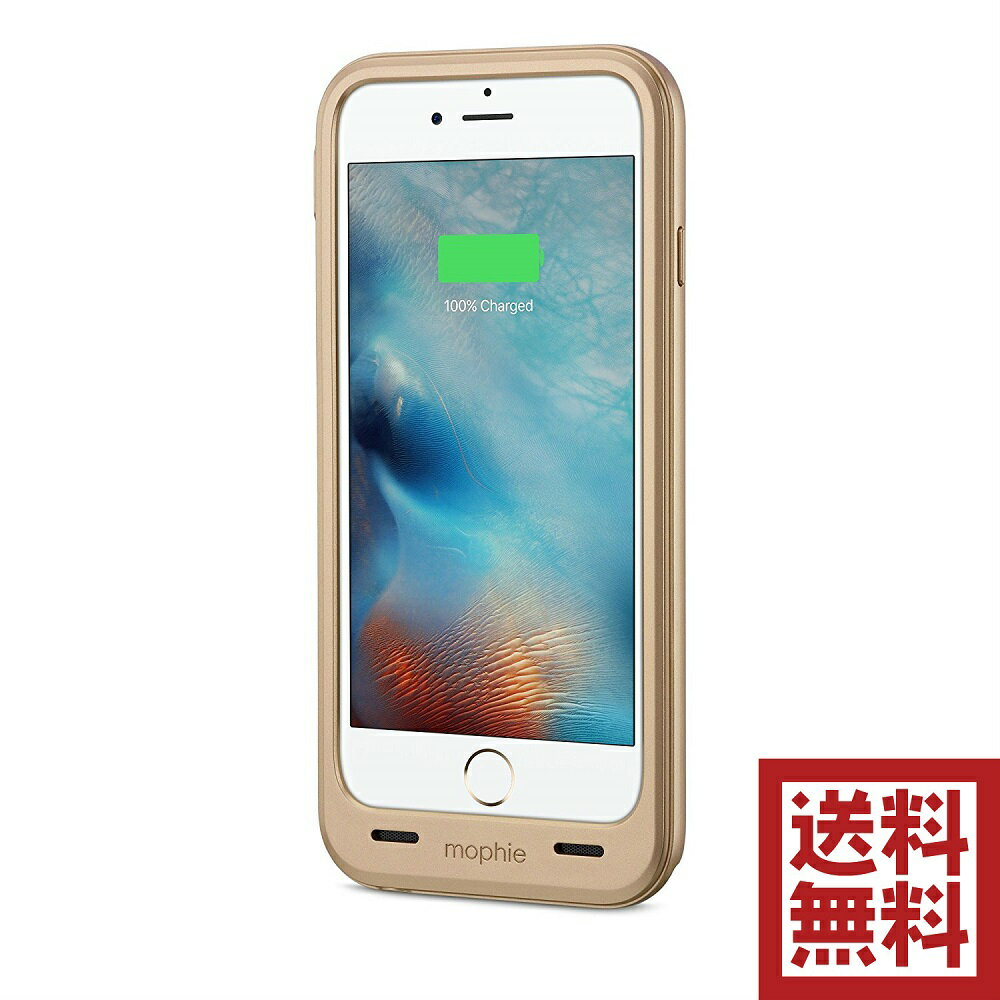 mophie juice pack plus for iPhone 6/6s & 6/6s Plus バッテリー ケース  iPhone 6/6s, ゴールド