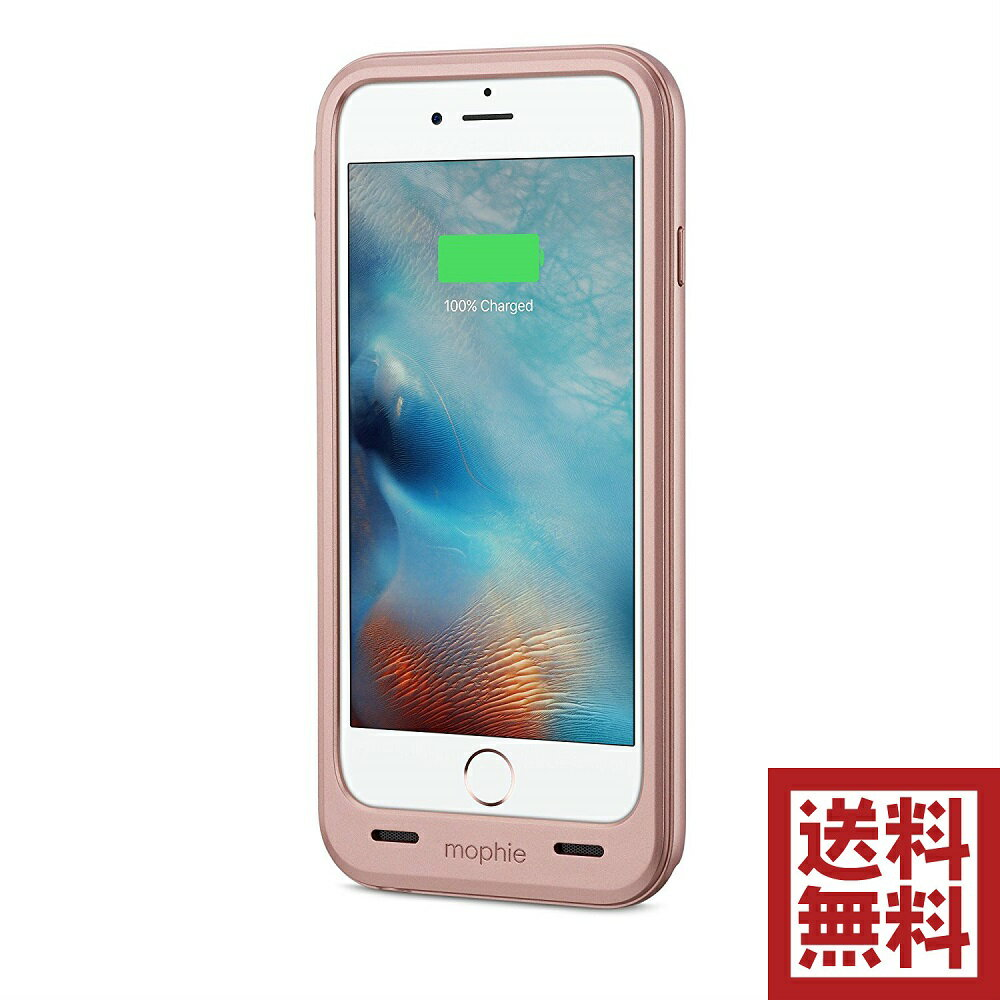 mophie juice pack plus for iPhone 6/6s & 6/6s Plus バッテリー ケース  iPhone 6/6s, ローズゴールド