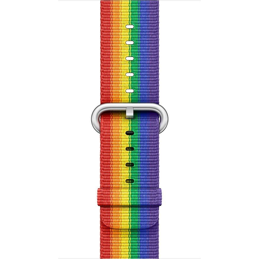 アップルウォッ� 純正 Apple Watch ケース用プライドエディションウーブンナイロン  38mm