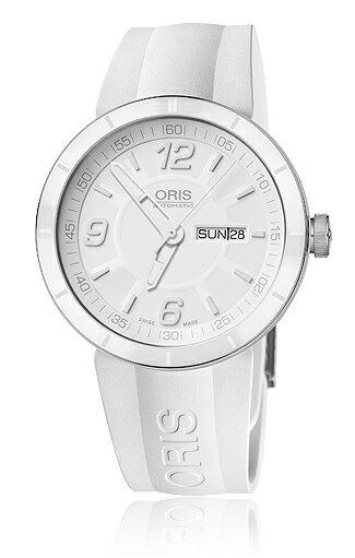 Oris Men's 01 735 7651 4166 07 4 25 07 TT1 White Dial Watch 正規輸入品 送料無料