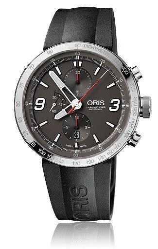 Oris Men's 01 674 7659 4163 07 4 25 06 TT1 Chrono Grey Dial Watch 正規輸入品 送料無料