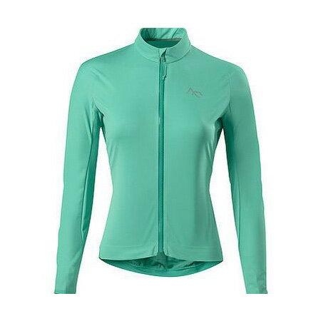 セブンメッシュ 7mesh Womens Synergy Jersey LS Emerald [サイクルウェア][ジャージ][長袖][レディース][女性用][7m1524][12/15 13:59まで ポイント10倍]