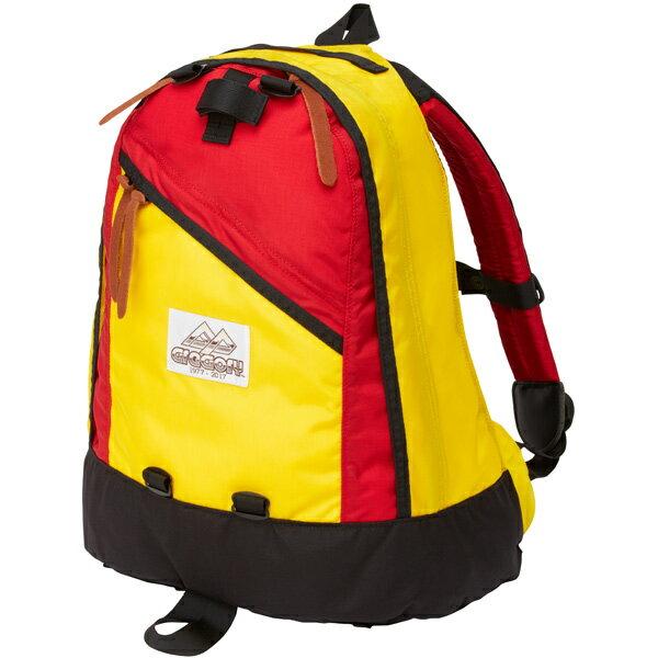 【あす楽対応 平日14:00まで】 グレゴリー GREGORY Day Pack 80 Yellow X Red [40周年記念モデル][デイパック][イエロー][レッド][2017年秋冬モデル][9/22 13:59まで ポイント6倍]