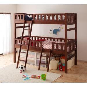 2段ベッド【Pacio】ホワイトウォッシュ 収納ができる天然木分割式2段ベッド【Pacio】パシオ【代引不可】