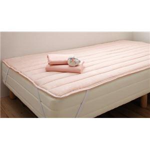 脚付きマットレスベッド シングル 脚22cm さくら 新・ショート丈国産ポケットコイルマットレスベッド【代引不可】