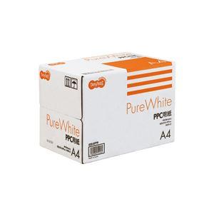 (まとめ) TANOSEE PPC用紙 Pure White A4 1箱(2500枚:500枚×5冊) 【×10セット】 送料無料!
