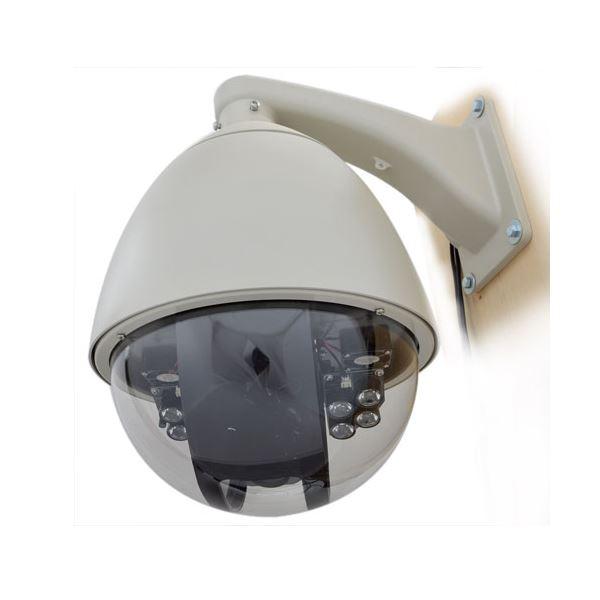 サンコー スピードドームジョイスティック付防犯カメラシステム STSPDM54 送料無料!