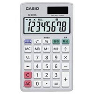 (業務用40セット) カシオ CASIO 手帳サイズ電卓 SL-300A-N 送料無料!