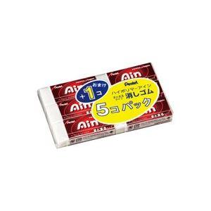 (業務用100セット) ぺんてる 消しゴムAin5+1個 ZEAS10-6 ×100セット 送料無料!