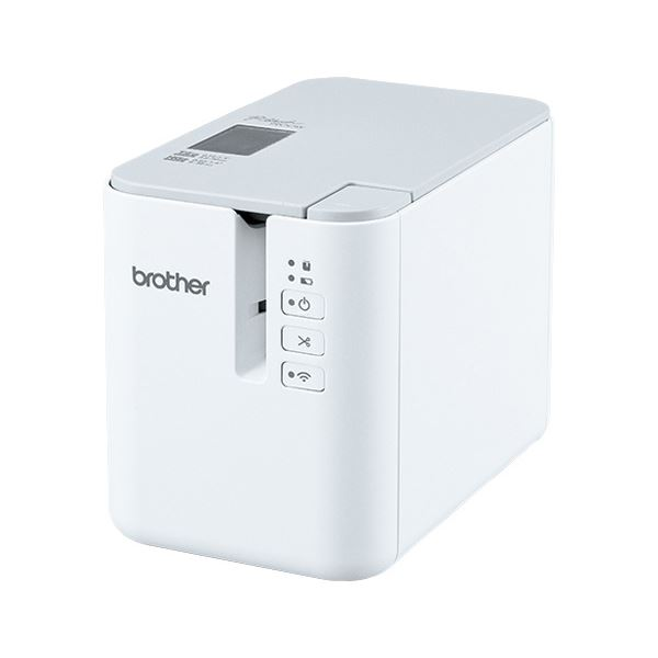 ブラザー工業 PCラベルプリンター P-touch PT-P900W PT-P900W 送料無料!