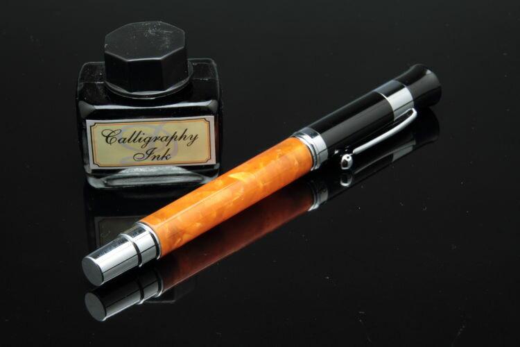 【DALLAITI】ダライッティ 万年筆 インクセット オレンジ akr37b イタリアより、ついに上陸【箱入り】【RCP】