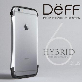 iphone6 アルミバンパー cleave ディーフDeff iPhone6 Plus用ドライカーボン高品質バンパー【送料無料】CLEAVE Hybrid Bumper for iPhone 6s Plus / iPhone 6 Plus(5.5インチ) DCB-IP6PA6CA アルミケース アルミニウムケース P23Jan16