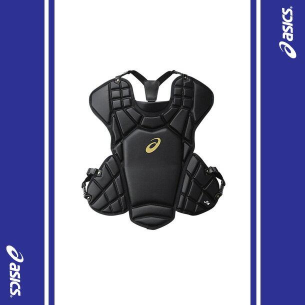 ソフトボール用プロテクター(ブラック)【ASICS】アシックス(BPP660-90)*23