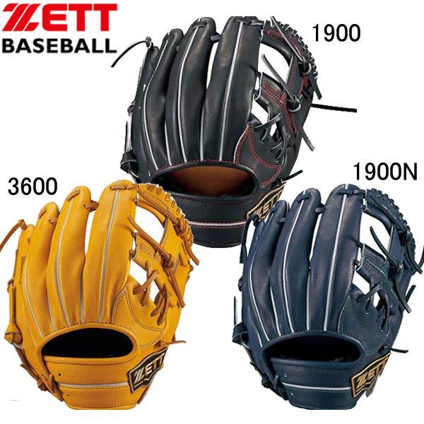 軟式用ネオステイタス 内野手用【ZETT】ゼット野球 軟式グラブ 18SS(BRGB31810)*20