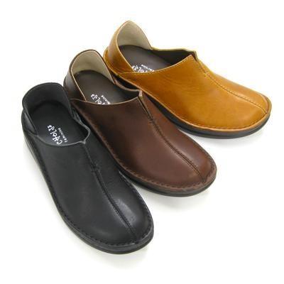 In Cholje(インコルジェ) 足に優しい靴 センターカット スリッポンシューズ   靴 レディース 婦人靴●送料無料