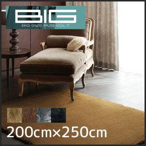 【ラグカーペット】スミノエ 高級ラグカーペット BIG プラチナファー 200×250cm__cp13197231-200250