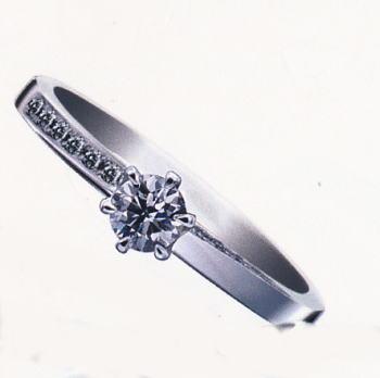 ★お買得情報があります!!★Something BlueサムシングブルーSBE-020ピンクダイヤ入りPt950エンゲージリング、婚約指輪