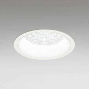 ◎ODELIC LEDベースダウンライト CDM-TP70W相当 オフホワイト 14° 埋込穴Φ150mm 温白色 3500K  M形 一般型 調光非対応 XD258584F ※受注生産品