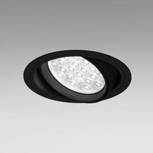 ◎ODELIC LEDユニバーサルダウンライト CDM-T70W相当 ブラック 47° 埋込穴Φ150mm 昼白色 5000K  M形 一般型 調光非対応 XD258808F ※受注生産品