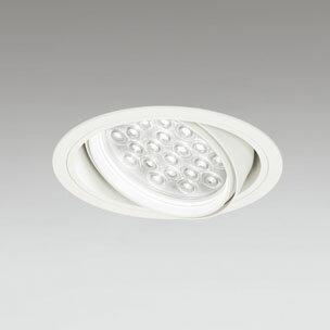 ◎ODELIC LEDユニバーサルダウンライト CDM-T70W相当 オフホワイト 14° 埋込穴Φ150mm 白色 4000K  M形 一般型 調光非対応 XD258811F ※受注生産品