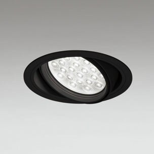 ◎ODELIC LEDユニバーサルダウンライト CDM-T70W相当 ブラック 14° 埋込穴Φ150mm 白色 4000K  M形 一般型 調光非対応 XD258812F ※受注生産品