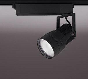 ◎ODELIC LEDスポットライト 高彩色タイプ 配線ダクトレール用 CDM-T70W相当 ブラック スプレッド 43VA 電球色 3000K 調光非対応 XS411160H