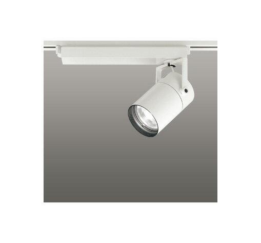 ◎ODELIC LEDスポットライト 配線ダクトレール用 CDM-T70W相当 オフホワイト 15° 白色 4000K  専用調光リモコン対応(リモコン別売) XS511101BC