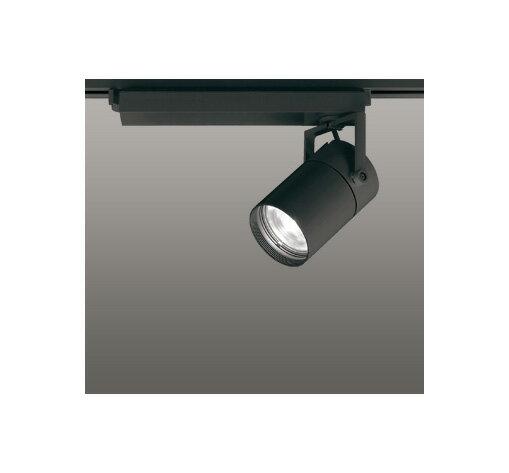 ◎ODELIC LEDスポットライト 配線ダクトレール用 CDM-T70W相当 ブラック 15° 温白色 3500K  専用調光リモコン対応(リモコン別売) XS511104BC