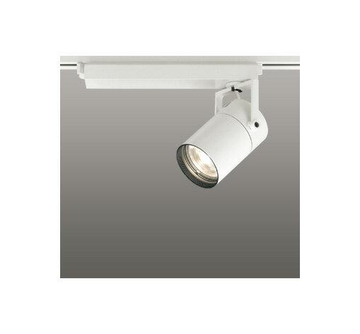 ◎ODELIC LEDスポットライト 配線ダクトレール用 CDM-T70W相当 オフホワイト 23° 電球色 3000K  専用調光リモコン対応(リモコン別売) XS511111BC