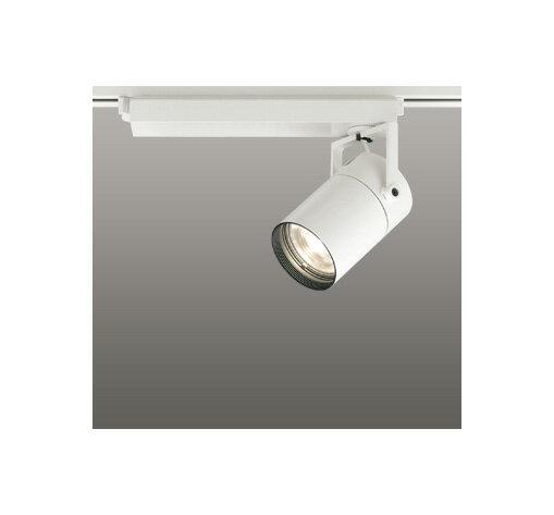 ◎ODELIC LEDスポットライト 配線ダクトレール用 CDM-T70W相当 オフホワイト 61° 電球色 3000K  専用調光リモコン対応(リモコン別売) XS511123BC