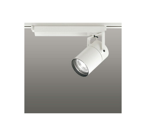 ◎ODELIC LEDスポットライト 配線ダクトレール用 CDM-T70W相当 オフホワイト スプレッド 白色 4000K  専用調光リモコン対応(リモコン別売) XS511125BC