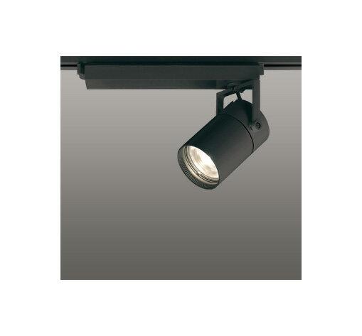 ◎ODELIC LEDスポットライト 配線ダクトレール用 CDM-T70W相当 ブラック スプレッド 電球色 3000K  専用調光リモコン対応(リモコン別売) XS511130BC