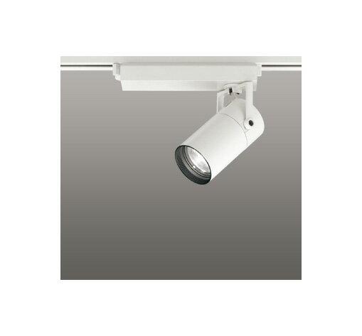 ◎ODELIC LEDスポットライト 配線ダクトレール用 CDM-T35W相当 オフホワイト スプレッド 温白色 3500K  調光非対応 XS513135