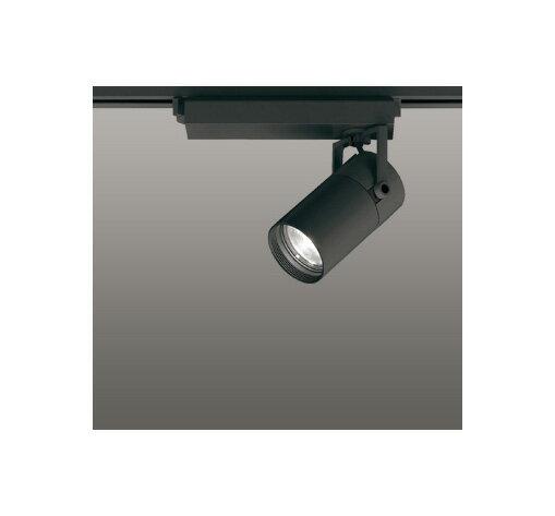 ◎ODELIC LEDスポットライト 配線ダクトレール用 CDM-T35W相当 ブラック スプレッド 温白色 3500K  調光非対応 XS513136
