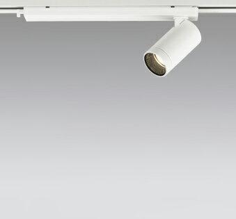 ◎ODELIC LEDスポットライト 配線ダクトレール用 JDR110V75W相当 オフホワイト 30° 電球色 2700K  調光非対応 XS614111H