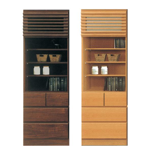 キャビネット リビングボード サイドボード リビング収納 オープンキャビネット 木製 小物収納 収納家具 幅60cm 日本製 完成品 シンプル 送料無料