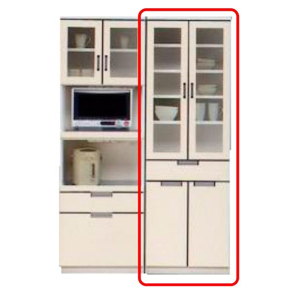 食器棚 ダイニングボード キッチンボード キッチン収納 木製 完成品 開き戸 幅60cm 国産 送料無料