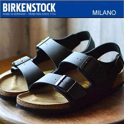 BIRKENSTOCK ビルケンシュトック Milano ミラノ ブラック 靴 サンダル シューズ  【smtb-TD】【saitama】  【RCP】