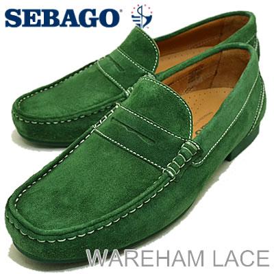 SEBAGO(セバゴ)TRENTON PENNY(トレントンペニー)GREEN SUEDE(グリーンスウェード) [靴・スニーカー・シューズ・ローファー]