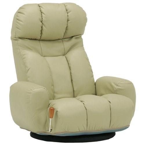 座椅子 ベージュ LZ-4271LGY 代引き不可 送料無料(一部地域を除く)