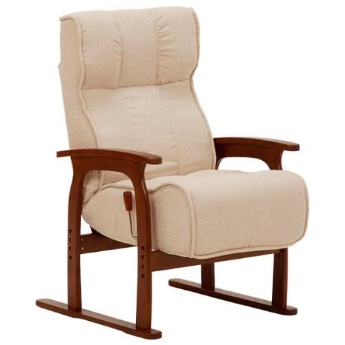 座椅子 アイボリー LZ-4303IV 代引き不可 送料無料(一部地域を除く)