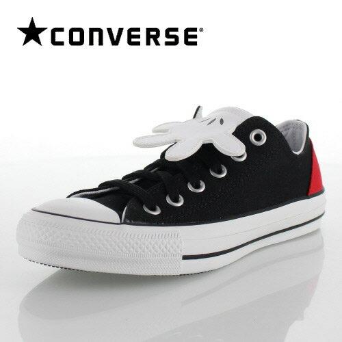 CONVERSE コンバース ALL STAR 100 MICKEY MOUSE HD OX オールスター ミッキーマウス 1CK591 61901 BLACK ブラック 黒 メンズ レディース スニーカー 靴
